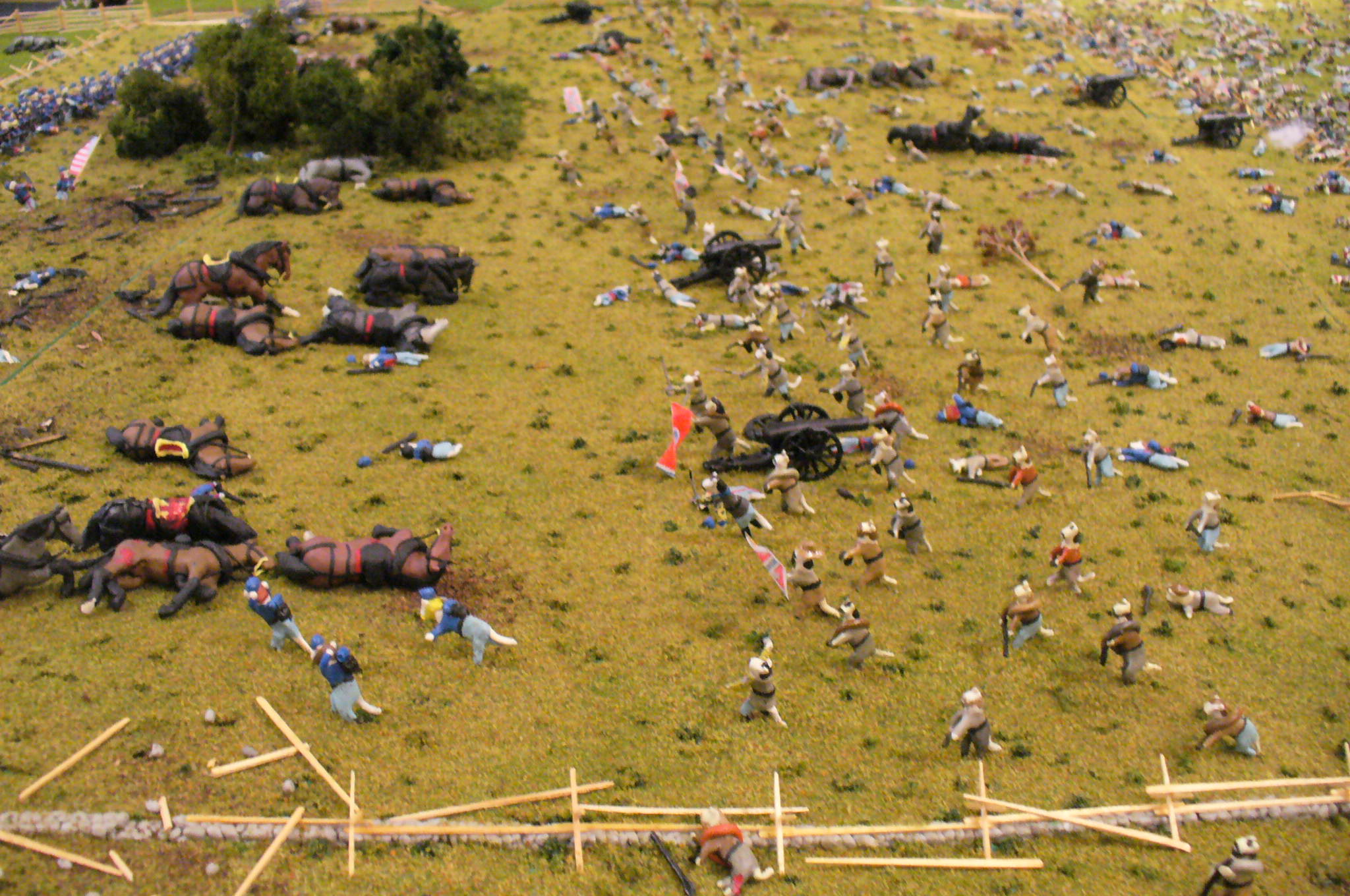 The Angle at Gettysburg | Civil War Tails at the Homestead Diorama ...