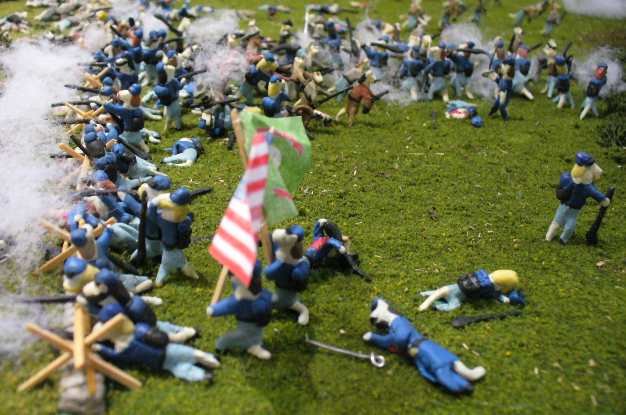 The Fighting 69th | Civil War Tails at the Homestead Diorama ...