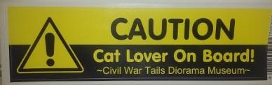 03 bumper sticker - Caution