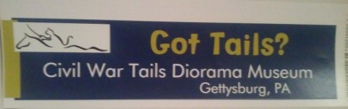 03 bumper sticker - Got Tails