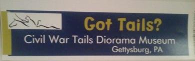 03 bumper sticker - Got Tails