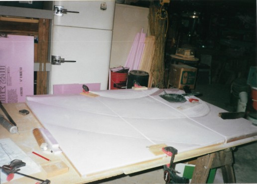 """Sanding the topography of the base for """"The Angle"""" is finished"""